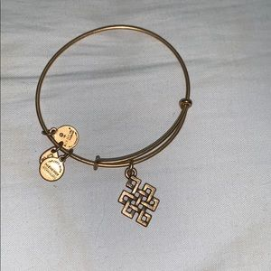 Alex and Ani Knot Bracelet